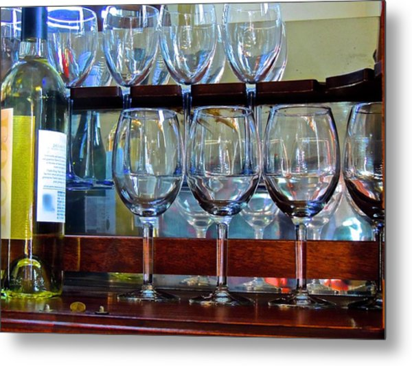 Glass Act... Metal Print