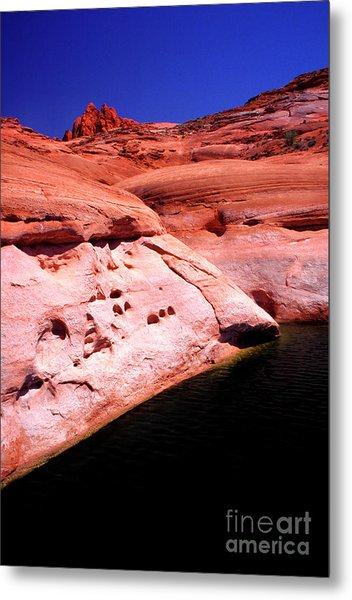 Glen Canyon Colors Metal Print