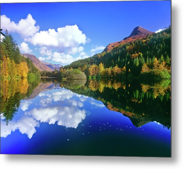 Glencoe Lochan, Scotland Metal Print by Kathy Collins