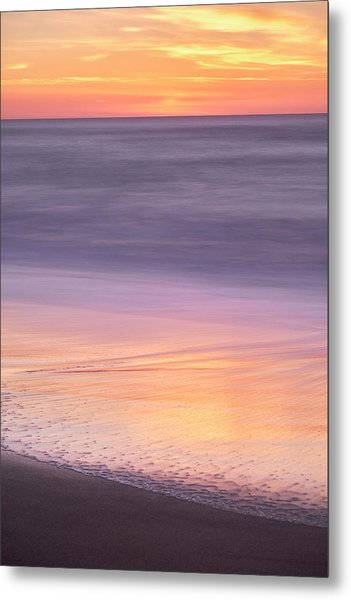 Gleneden Beach Sunset Metal Print