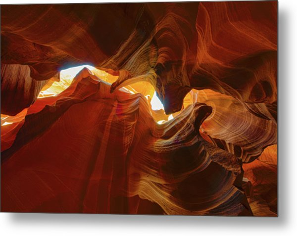 Metal Print featuring the photograph Antelope Jagged Beauty by Mark Duehmig