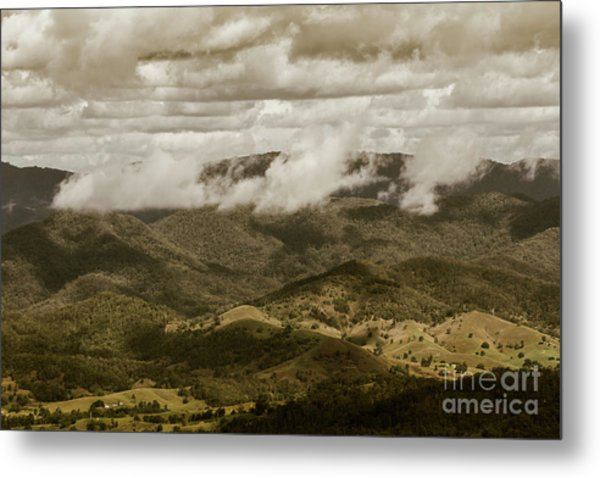 Glorious Cloud Cover Metal Print
