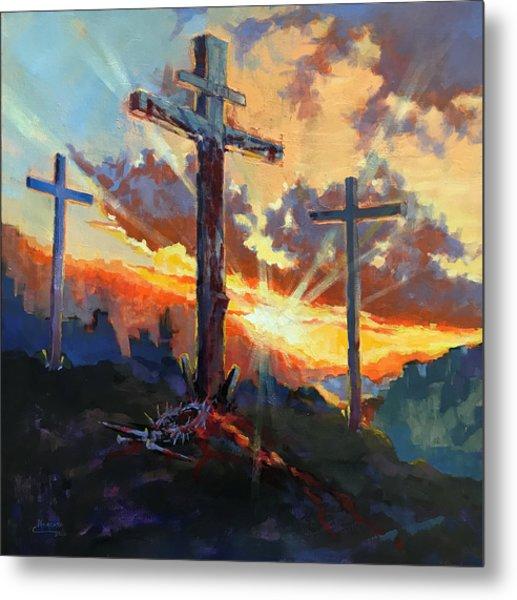 Glory Of Christ Metal Print