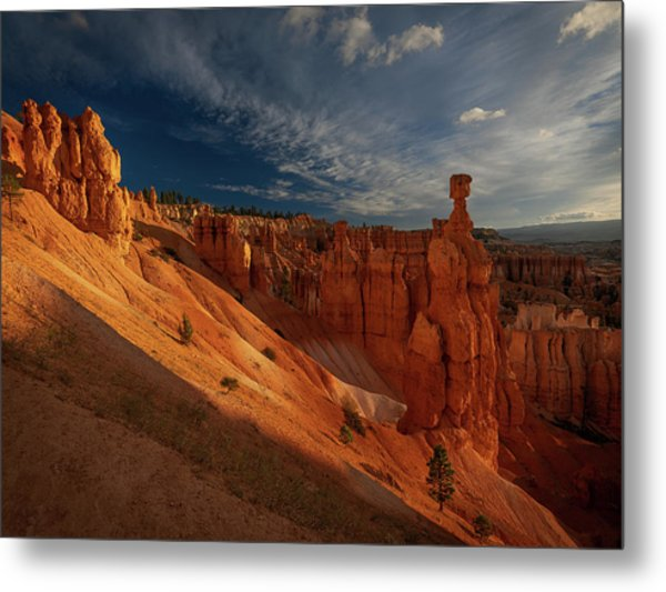 Metal Print featuring the photograph Good Morning Bryce by Edgars Erglis