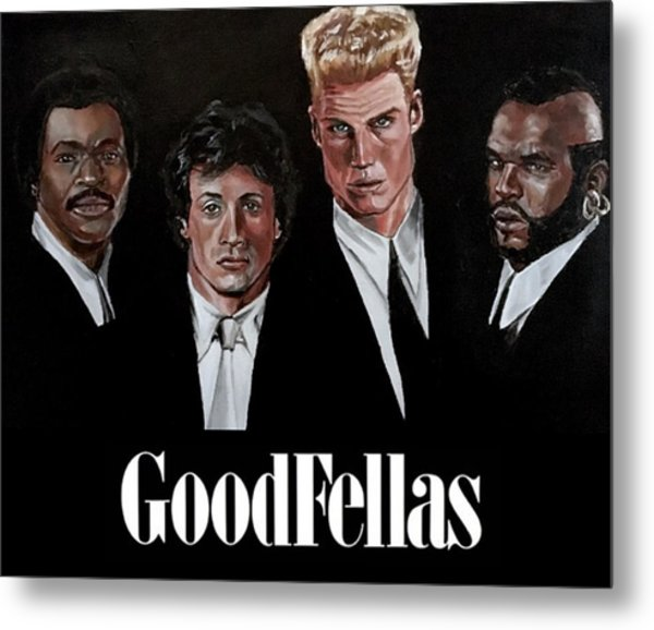 Goodfellas - Champions Edition Metal Print
