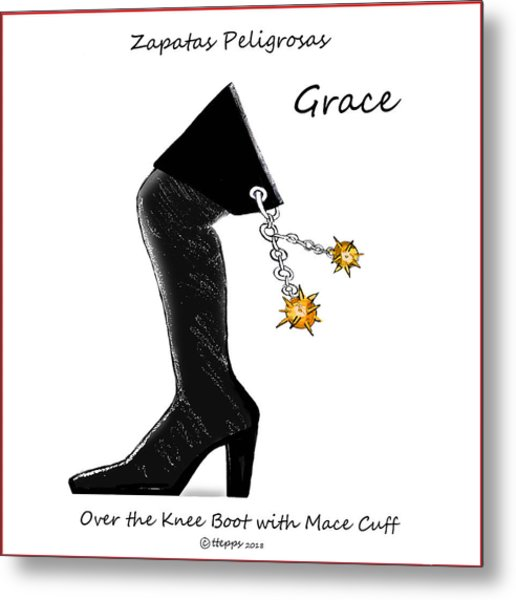 Grace Wall Art Metal Print