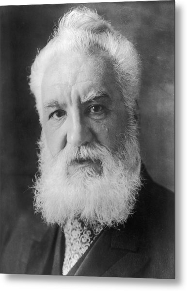 Graham Bell Metal Print by Topical Press Agency