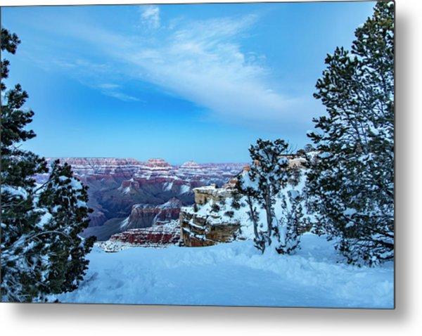 Grand Canyon Blue Hour Metal Print