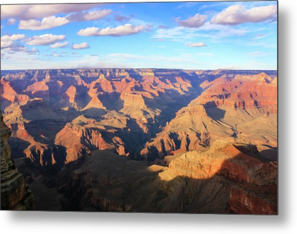 Metal Print featuring the photograph Grand Canyon Near Sunset by Dawn Richards