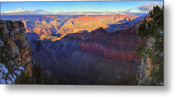 Metal Print featuring the photograph Grand Canyon Panorama by Chance Kafka