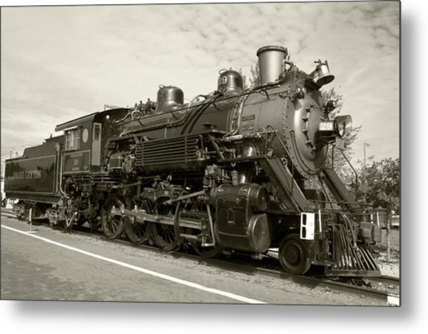 Metal Print featuring the photograph Grand Canyon Railway by Dawn Richards