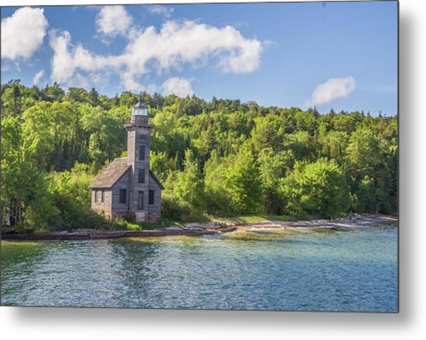 Grand Island East Channel Lighthouse Metal Print