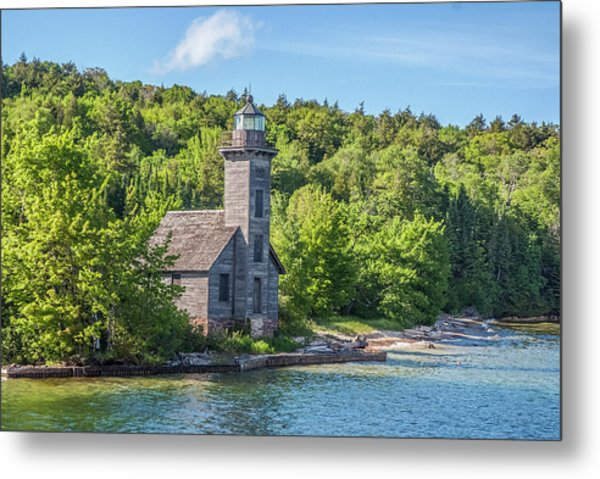 Grand Island East Channel Lighthouse, No. 2 Metal Print