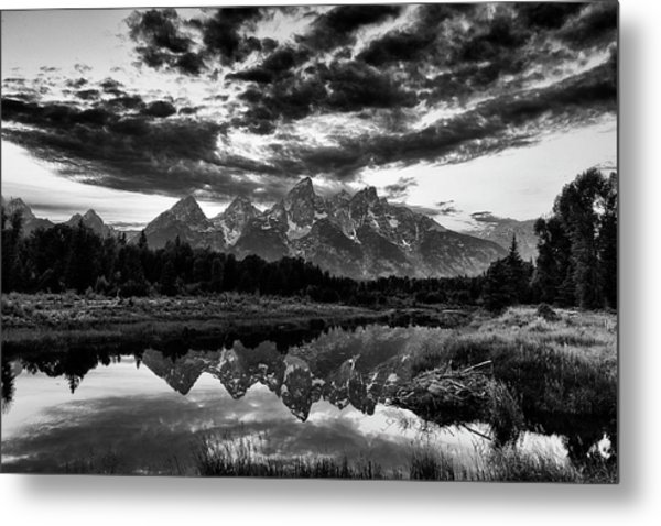 Grand Tetons, Wyoming Metal Print