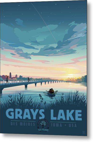 Grays Lake Metal Print