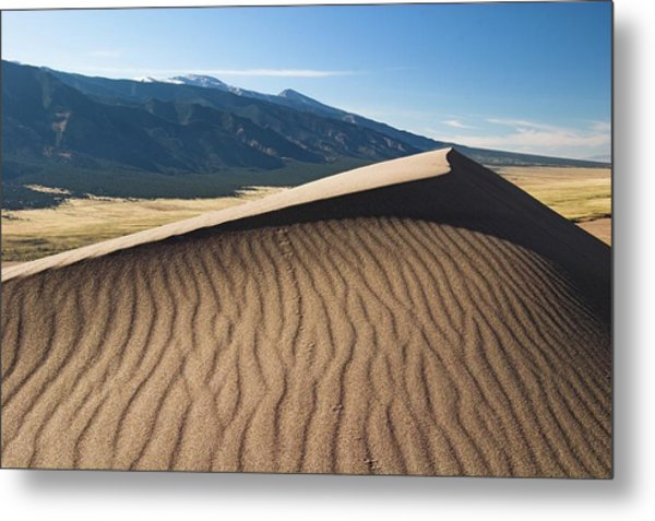 Great Dunes National Park Metal Print