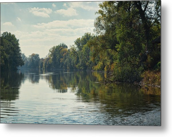 Great Morava River Metal Print