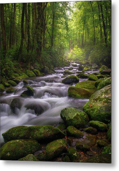 Great Smoky Mountains Gatlinburg Tennessee Metal Print