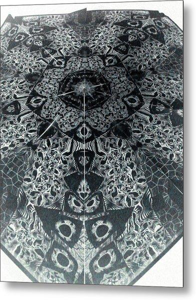 Grillo Inverse Metal Print