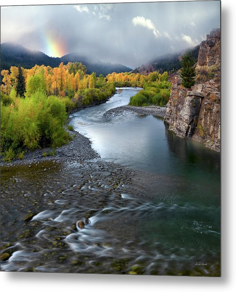 Gros Ventre Autumn Metal Print