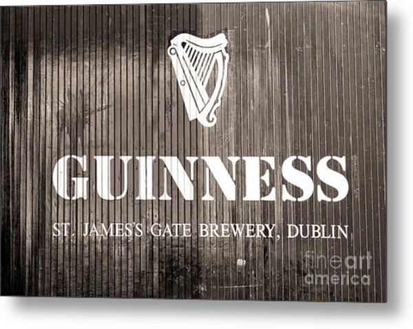 Guinness St. James Gate Brewery Dublin Metal Print