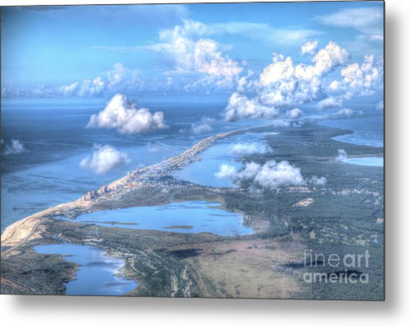 Gulf Shores-5094-tm Metal Print
