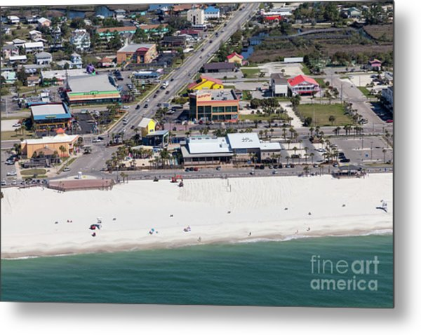 Gulf Shores Beach 7139 Metal Print