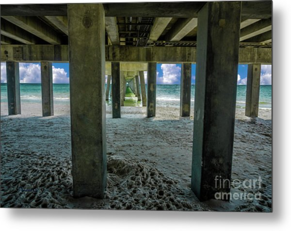 Gulf Shores Park And Pier Al 1649b Metal Print