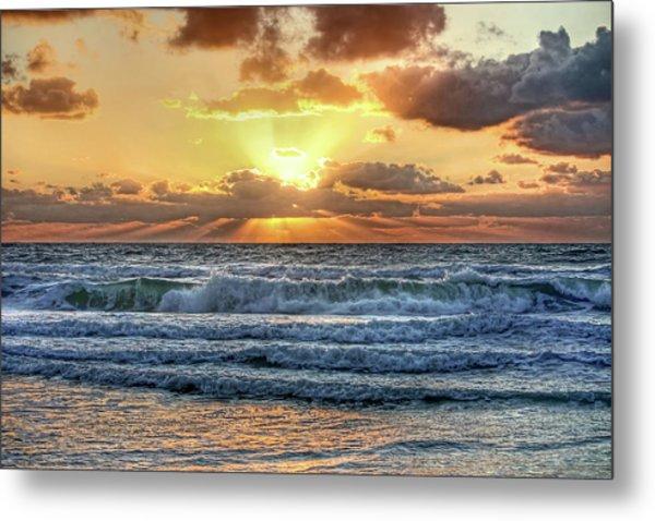 Gulf Waters Metal Print