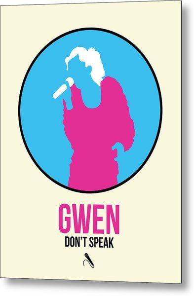 Gwen Poster II Metal Print