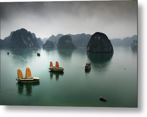 Ha Long Bay Metal Print by Copyright Mark Keelan