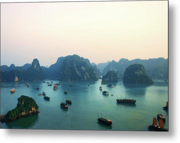 Ha Long Bay Metal Print by Samantha T. Photography