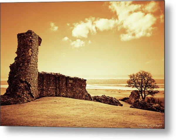 Hadleigh Castle Metal Print