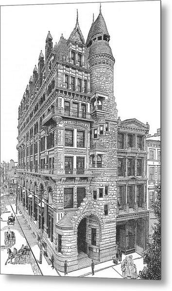 Hale Building Metal Print