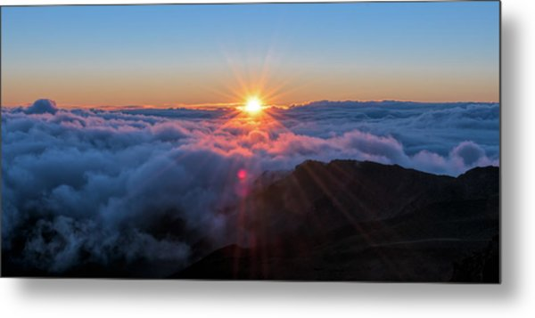 Haleakala First Light  Metal Print