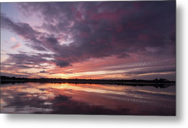 Halifax River Sunset Metal Print