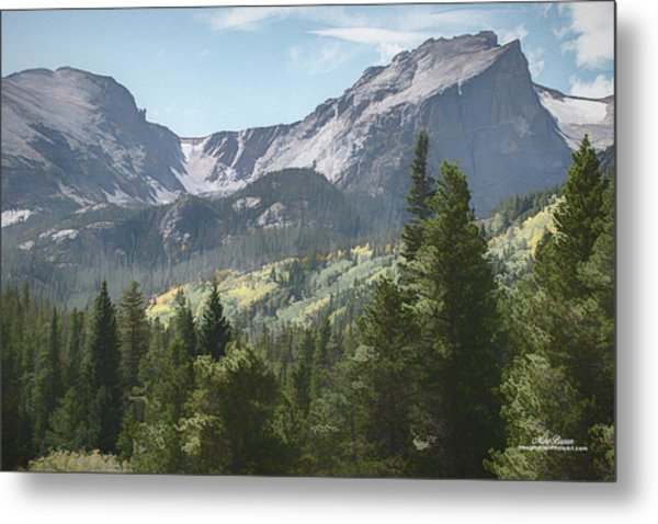 Hallett Peak Colorado Metal Print
