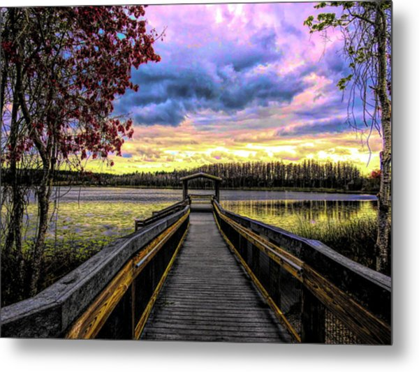 Hammond Lake Metal Print