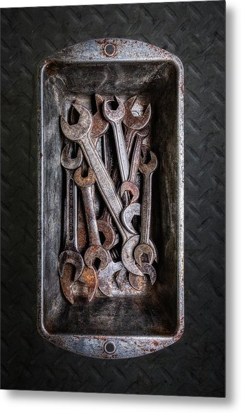 Hand Tools - Wrenches Metal Print
