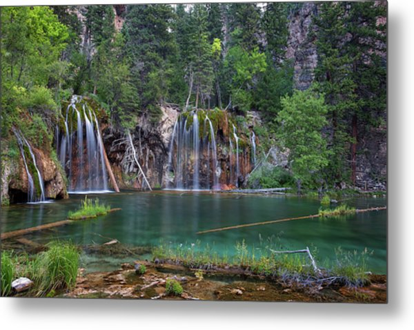 Hanging Lake Colorado Metal Print