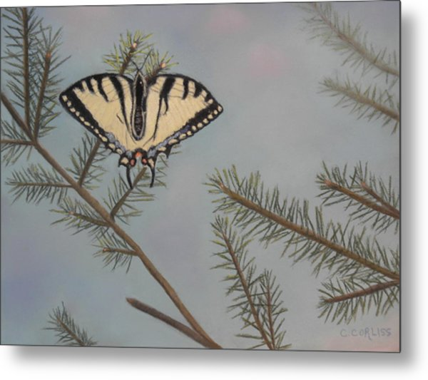 Hanging On To Summer Metal Print