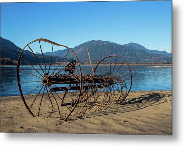 Harrison Lake Near Agassiz Metal Print