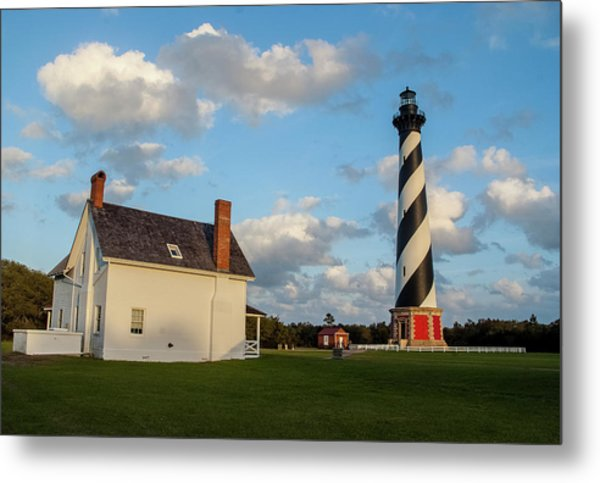 Hatteras Lighthouse No. 2 Metal Print