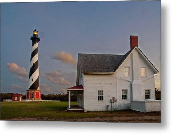 Hatteras Lighthouse No. 3 Metal Print