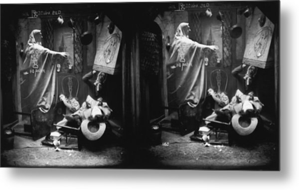 Haunted House Metal Print by London Stereoscopic Company