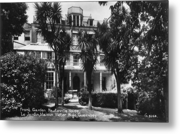 Hauteville House Metal Print by Hulton Archive