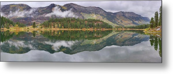 Metal Print featuring the photograph Haviland Lake Pano by Theo O'Connor