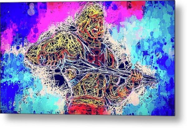 He - Man Metal Print