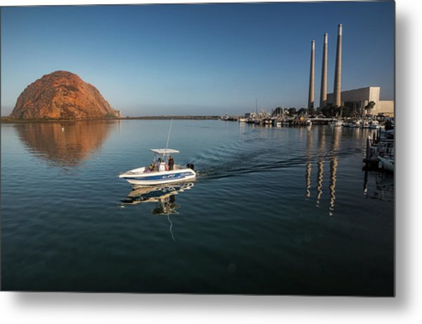 Heading Out Early Metal Print
