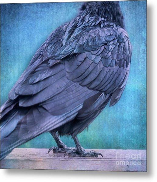 Headless Raven Metal Print